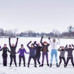 Jelcz-Laskowice: Trening nad stawem